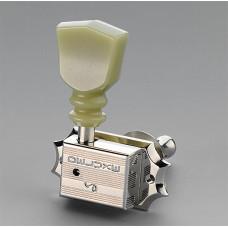 10140123.17.36 G-Series Deluxe KeyStone DR Комплект колковой механики 3+3, никель, Schaller