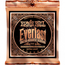 Струны Ernie Ball Everlast Coated Phosphor Bronze Acoustic 10-50 (2550)