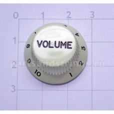 Ручка регулировки громкости GF (Guitar Factory), Светло Бежевый KM-240T/V, 1шт