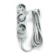 PC-Y-5-32-3 PowerCube Бытовой удлинитель, 3+2 розетки, 2200Вт, 3.0м, Электрическая мануфактура