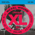 Струны D'Addario Nickel Wound 12-54 (EXL145-XL)