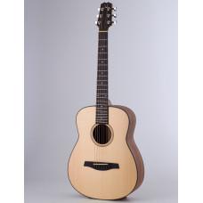 Акустическая гитара Kibin S-Mini, цвет натуральный, с чехлом