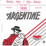 1520 Argentine Комплект струн для банджо альт, петля, Savarez