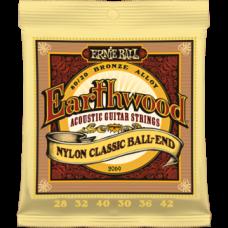 Струны Ernie Ball Earthwood Folk Nylon Classic 28-42 (2069)