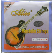 A1003A Комплект струн для мандолины, бронза, Alice