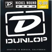 Струны Dunlop Nickel-Plated Steel Light Bass 40-100 (DBN40100)