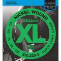Струны D'Addario Nickel Wound Bass 5-string 40-125 (EXL220-5 XL)