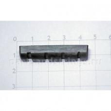 Верхний порожек GF (Guitar Factory), графит, 43x8.8x6.3 NTC-7