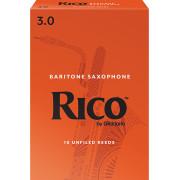 RLA1030 Rico Трости для саксофона баритон, размер 3.0, 10шт, Rico