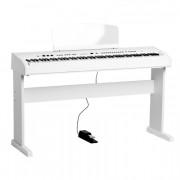 438PIA0713 Stage Concert Цифровое пианино, белое, со стойкой, Orla