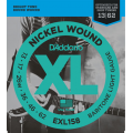 Струны D'Addario Nickel Wound Baritone 13-62 (EXL158XL)