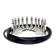 Набор Lex cable «дюжина» для изготовления патчей. 12 разъёмов, 3м кабеля.