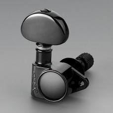Колки Schaller M6 Vintage Toplocking 3+3, Черный (10120423.13)
