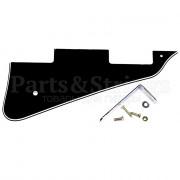 Панель (pickguard) Hosco для Les Paul, трехслойная, черная (LP-B3P)