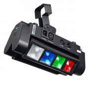 LM30 Моторизированный мини-прожектор смены цвета (колорчэнджер), 8*3Вт, Big Dipper