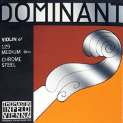 129 Dominant Отдельная струна Е/Ми для скрипки размером 4/4, сред. натяж, шарик, Thomastik