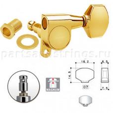 Колки запирающие Gotoh SG360-07L-MG 6-L Золото