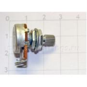 Потенциометр A250K 15мм. Логарифмический (QT1002-A250)