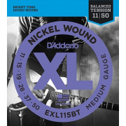 Струны D'Addario Nickel Wound 11-50 (EXL115BT)