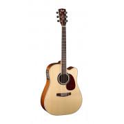 MR730FX-NAT MR Series Электро-акустическая гитара, цвет натуральный, Cort