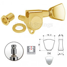 Колки запирающие Gotoh SG301-04-MG 3L-3R Золото