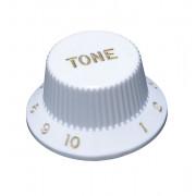 KW-240T Ручка потенциометра, Tone, белая, метрическая, Hosco