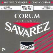 500AR Alliance Corum Комплект струн для классической гитары, норм.натяжение, посеребренные, Savarez