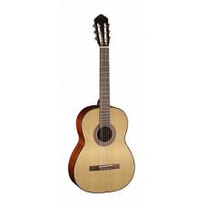 Классическая гитара Parkwood 4/4 цвет натуральный, с чехлом (PC90)