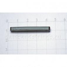 Верхний порожек GF (Guitar Factory), графит, 41.5x6.2x3.5 NTC-3