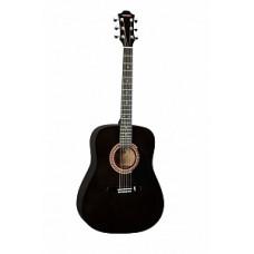 Акустическая гитара Hohner полноразмерная, цвет черный (HW220TBK)