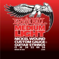 Струны Ernie Ball Medium Light Nickel Wound 12-54 (2206)