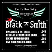 Струны BlackSmith Bass 45-105 (NW-45105-4)