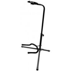 Гитарная стойка MUSIC STANDS универсальная с поддержкой грифа, черная (GTS210)