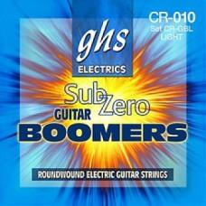 Струны GHS Sub Zero Boomers 9-42 (CR-GBXL)