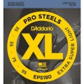 Струны D'Addario Pro Steels Bass 35-95 (EPS180)