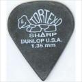 Медиатор Dunlop Tortex Sharp черный 1.35мм. (412R1.35)