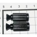 Опоры тремоло со вставкой Schaller Черный (2 шт)