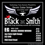 Струны BlackSmith Jazz Extra Light 12-49 (NW-1249)