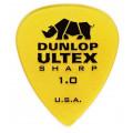 Медиатор Dunlop Ultex Sharp желтый 1.0мм. (433R1.0)