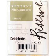 DJR02305 Reserve Трости для саксофона альт, размер 3.0+, 2шт., Rico