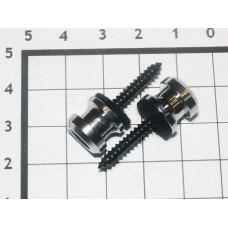 Крепление под стреплоки Schaller хром (2шт)