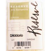 DJR0240 Reserve Трости для саксофона альт, размер 4.0, 2шт., Rico