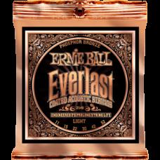 Струны Ernie Ball Everlast Coated Phosphor Bronze Acoustic 11-52 (2548)