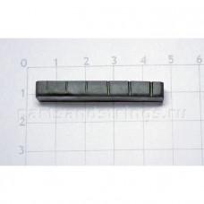 Верхний порожек GF (Guitar Factory), графит, 43x7.8x5 NTC-8