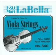 640 Комплект струн для альта La Bella