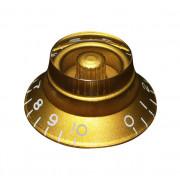 KG-160 Ручка потенциометра, золото, метрическая, Hosco