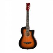 Акустическая гитара Foix, санберст с вырезом (FFG-1038SB)