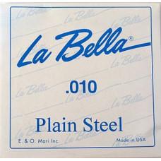 Струна La Bella для гитары 010, сталь (PS010)