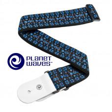 Ремень для гитары Planet Waves Hootenanny Blue (50G05)