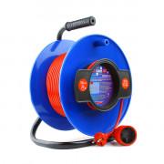 PC-B1-K-50 PowerCube Удлинитель на катушке 10А/2,2 кВт 50м, Электрическая мануфактура